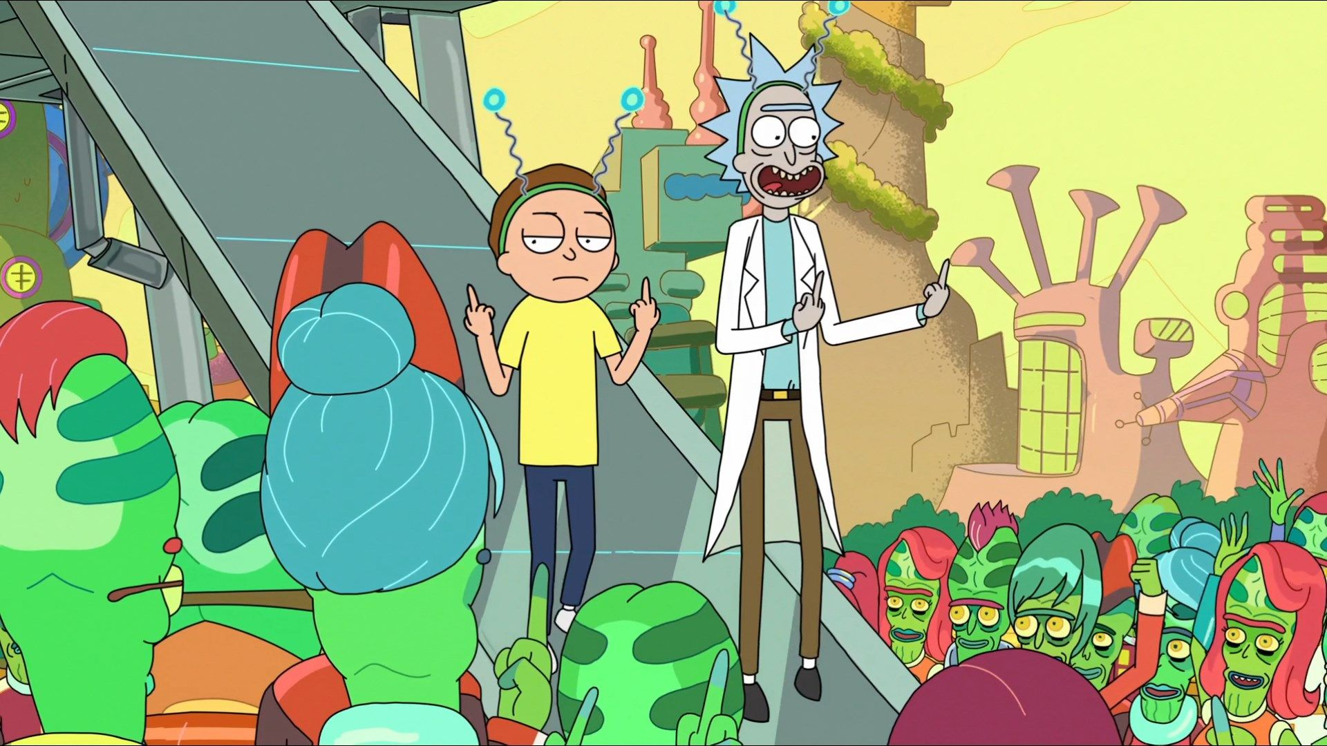 free desktop backgrounds for rick and morty 1920x1080 353 kb