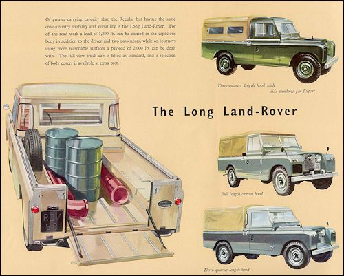 The Long Land Rover.