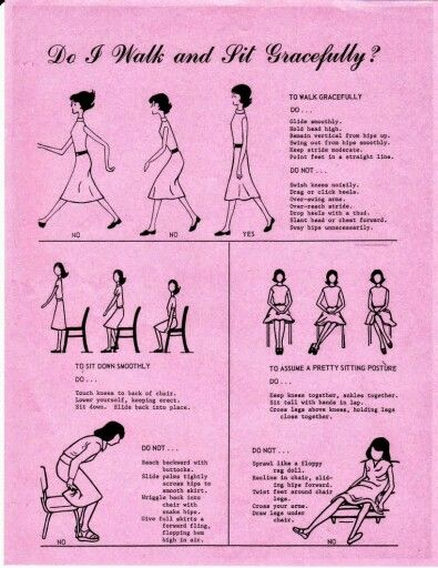 Do You Walk And Sit Gracefully?   Manners   Dining etiquette