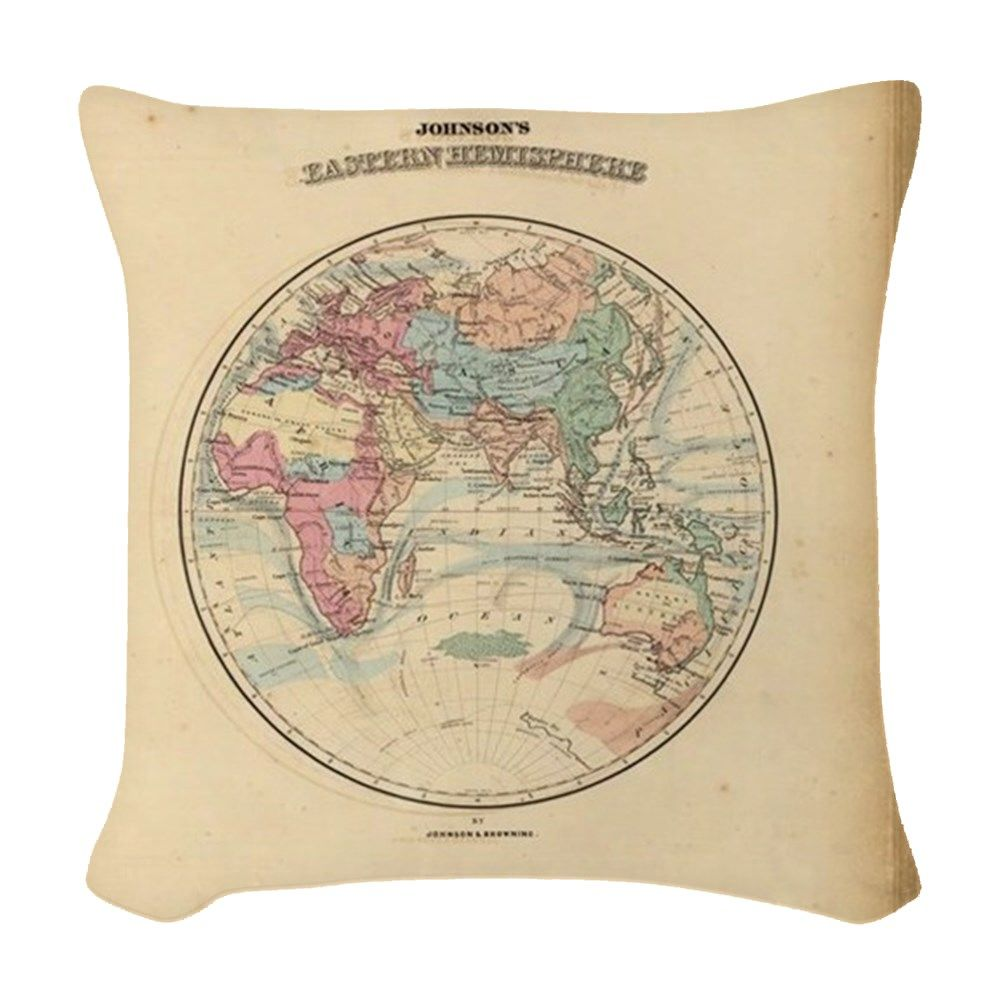 Oldest world map woven throw pillow httpcafepressdd oldest world map woven throw pillow gumiabroncs Choice Image