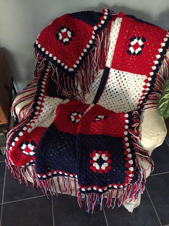 Autumn Blanket Crochet Afghan Blanket Woodland Fall Cabins And Log Home Decor Man Cave Blanket Fringe Throw Blanket Crochet Crochet Projects
