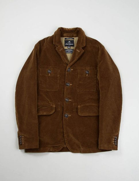 503c0c9c453c Nigel Cabourn- Brown 8 Wale Cord Atkinson Jacket (Made in the USA ...