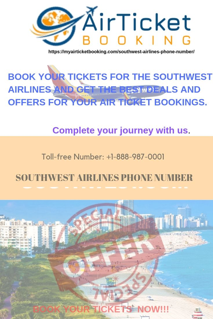 Air Ticket Booking For Southwest Airlines Southwest