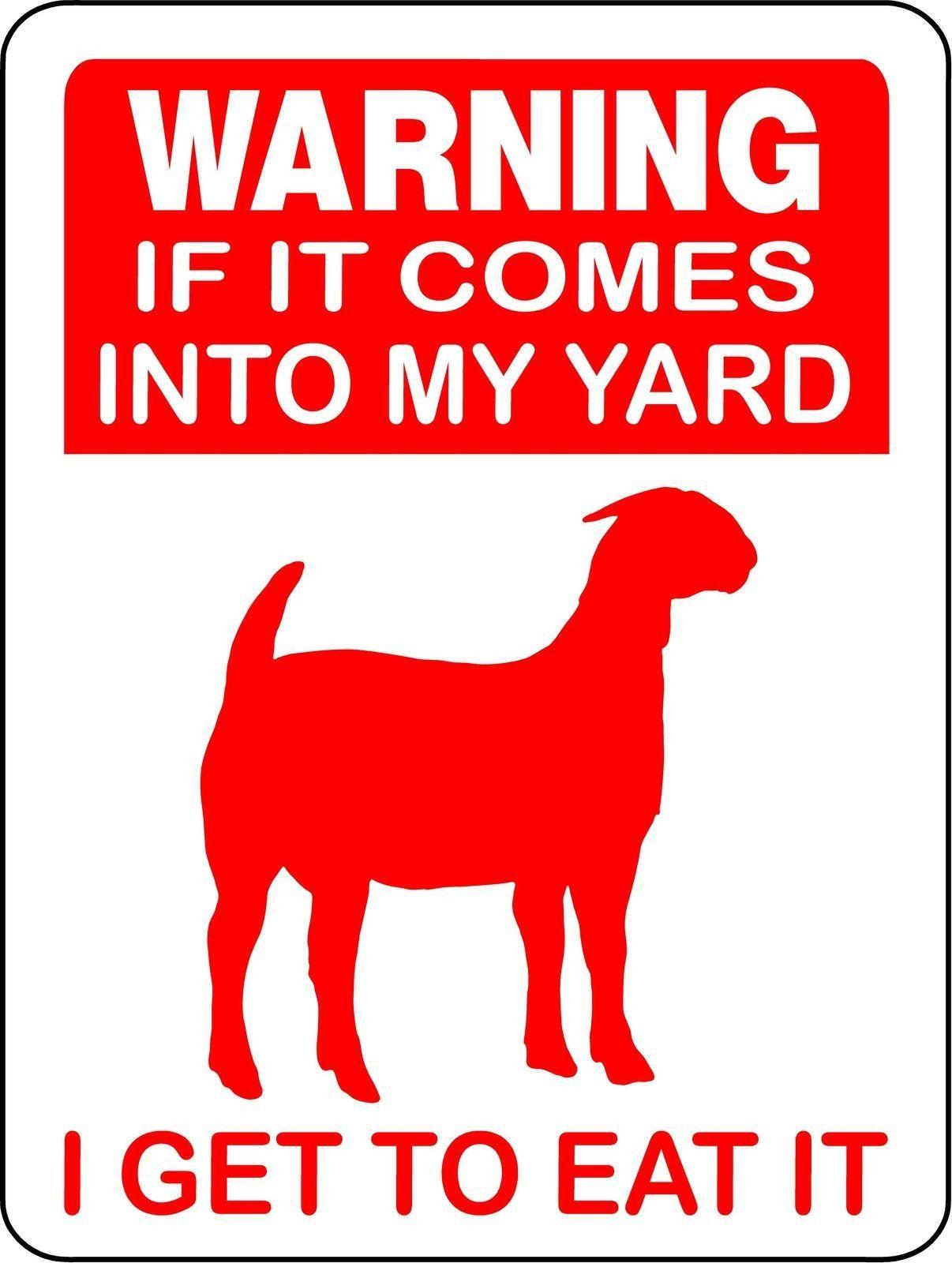 Goat aluminum signs goat2 goat toys goats aluminum signs