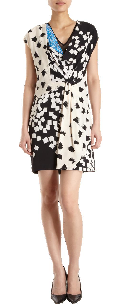 Diane von Furstenberg Porsha Print Wrap Dress | Diane von ...