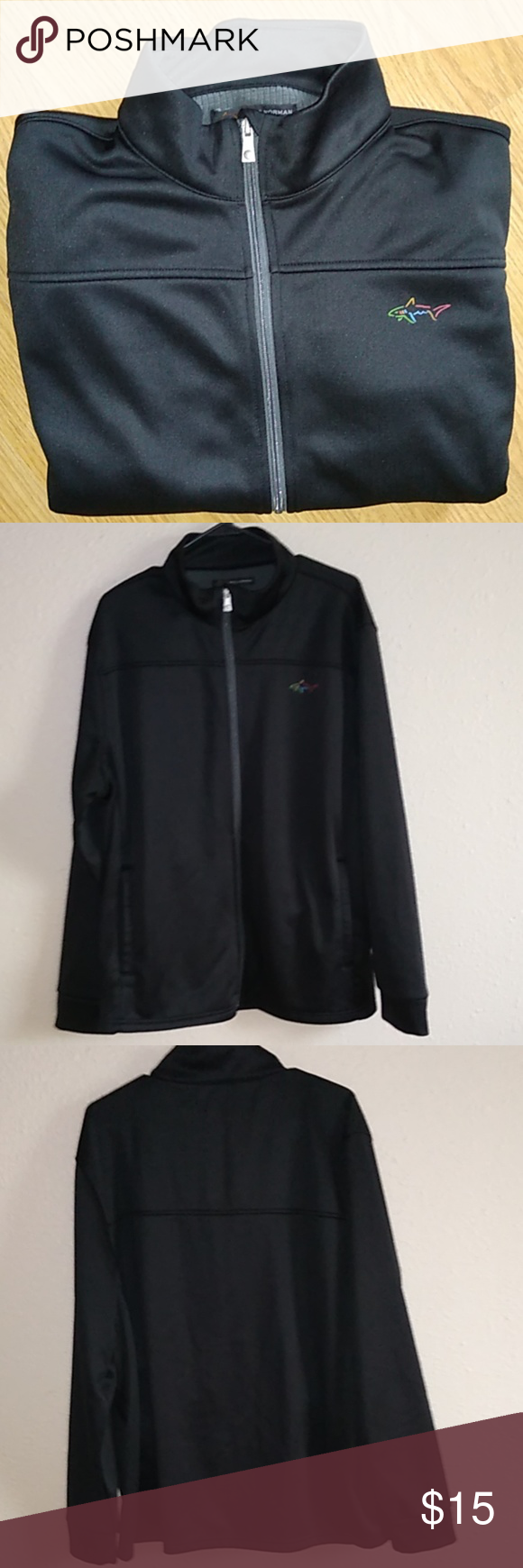 Greg Norman Jacket Xl Greg Norman Jacket Xl Good Condition Two Front Pockets As Well As Two Deep Inner Pockets Greg Norma Clothes Design Fashion Fashion Trends