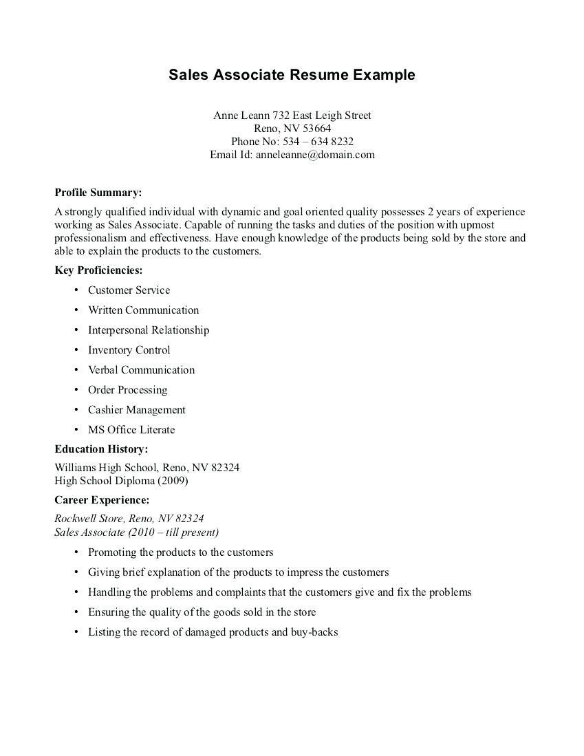 Easy Resume Tips Objective to Follow Sales resume examples