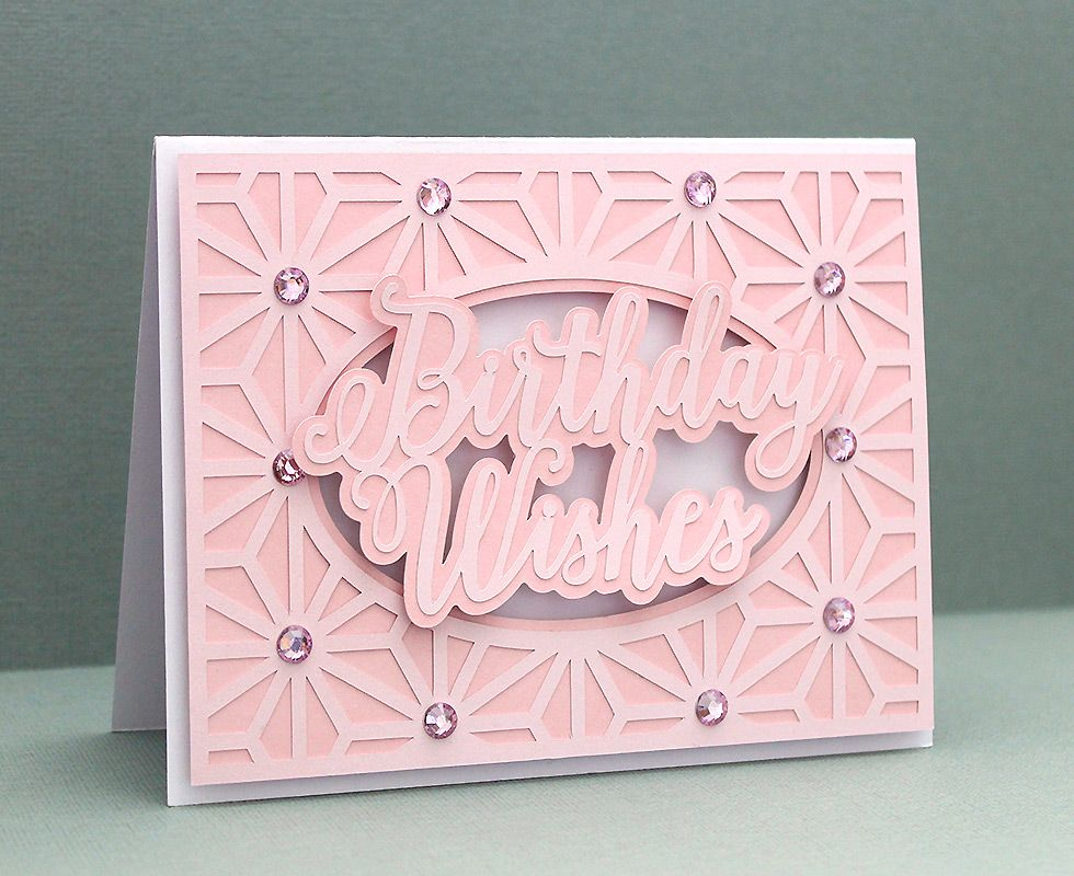 Card Cover 20 Silhouette cards, Cricut birthday