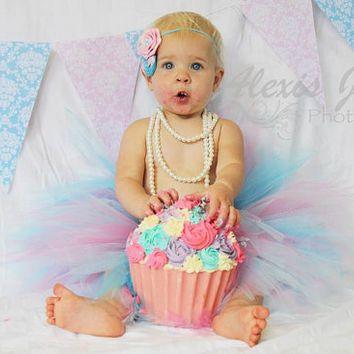 Image result for carnival cake smash girl
