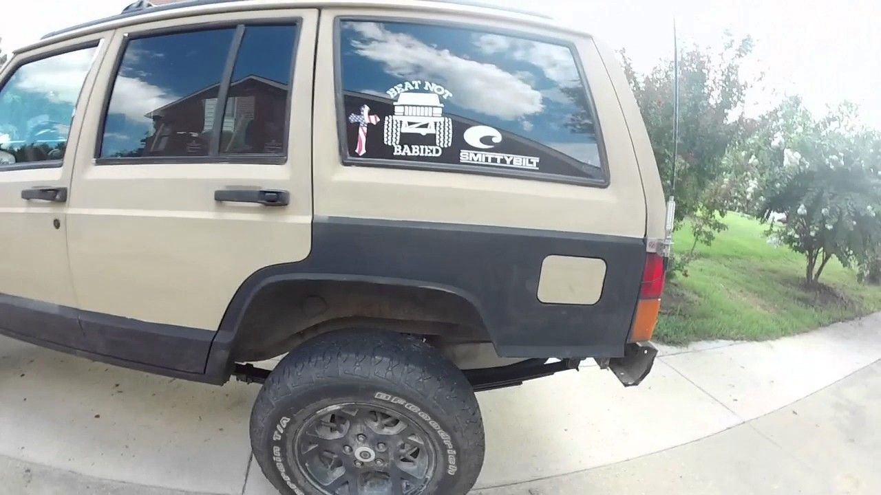 Jeep Cherokee Xj Junk Yard 3 5 Lift Kit Youtube Jeep Cherokee