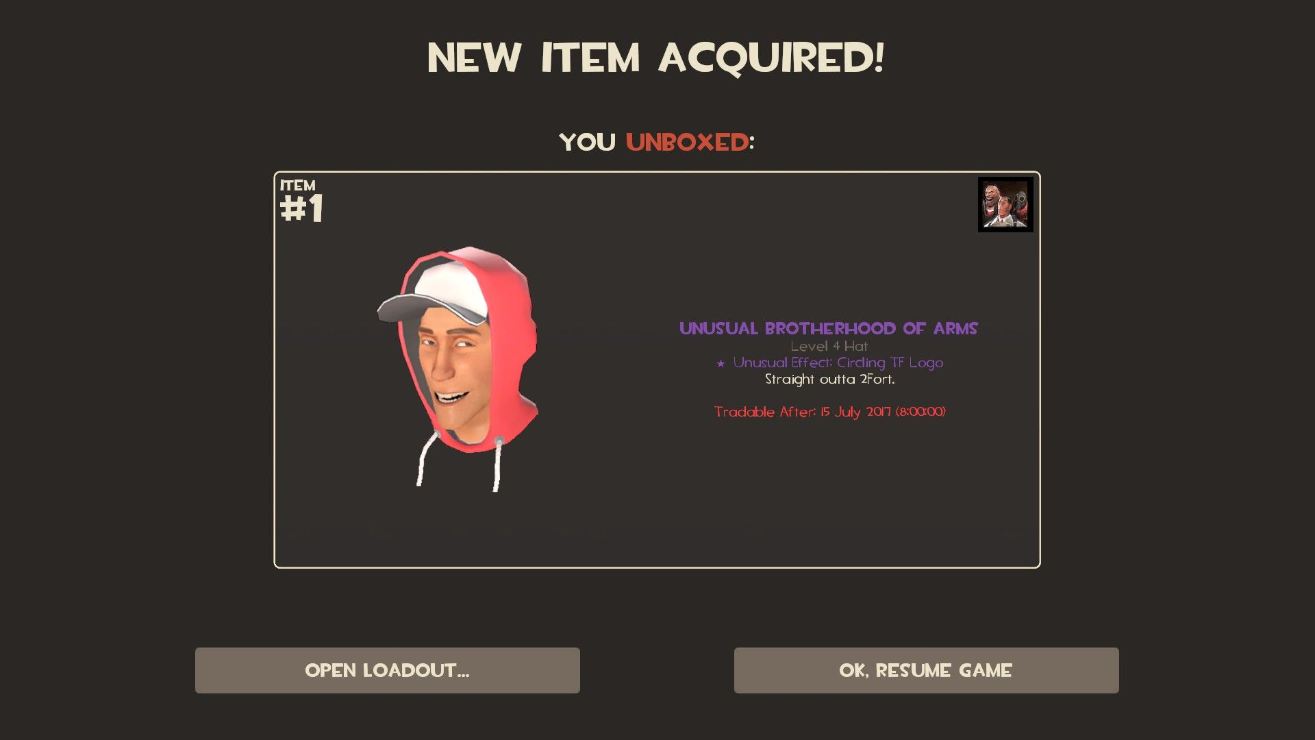 After 550 hours of gameplay my first unusual games