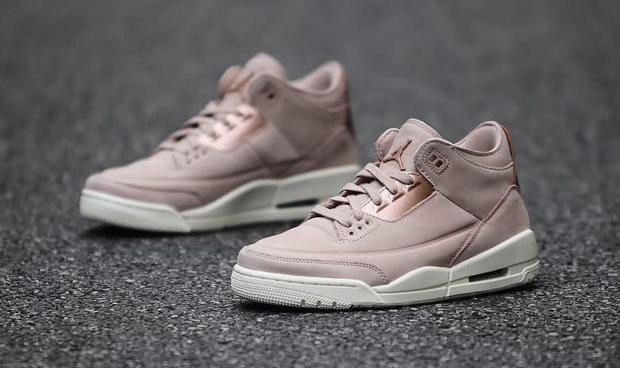 cheap for discount 1e2a5 247a1 Air Jordan 3 Particle Beige AH7859-205 Release Date ...