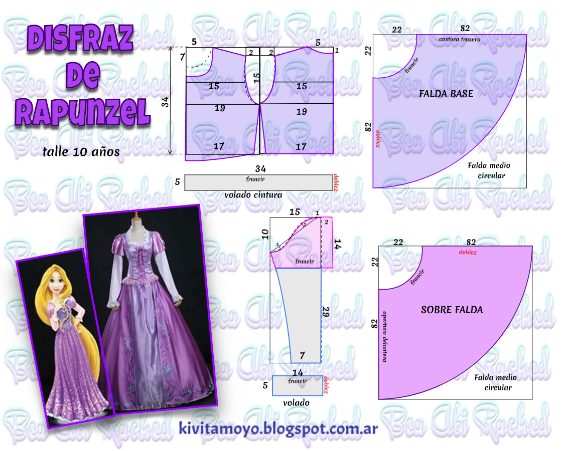 Blog de patronaje y diseño | moldes | Pinterest | Disfraces de ...