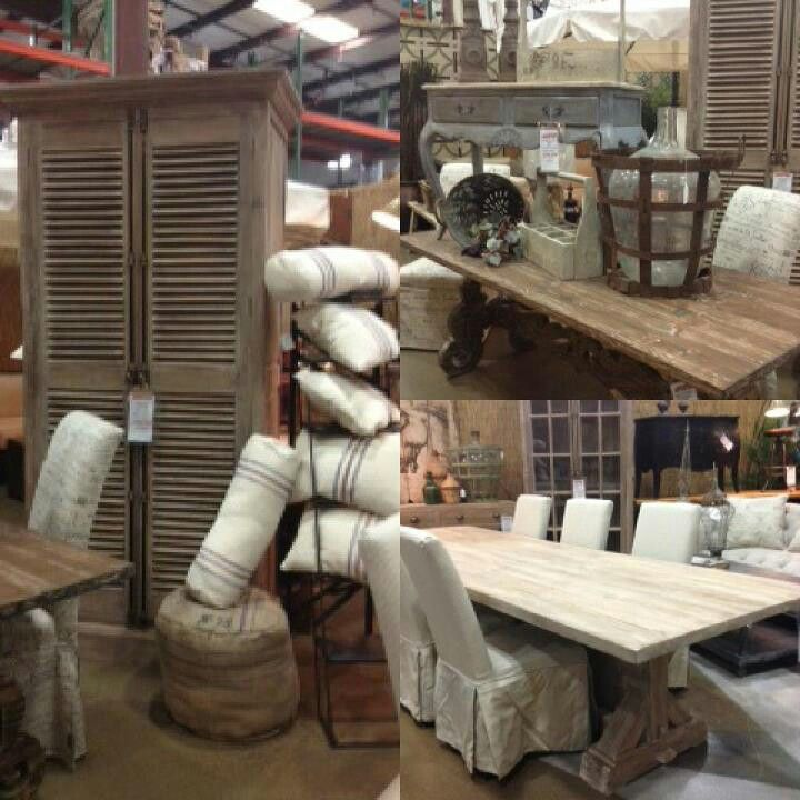 Woodstock Furniture Outlet has awesome rustic furniture & decor