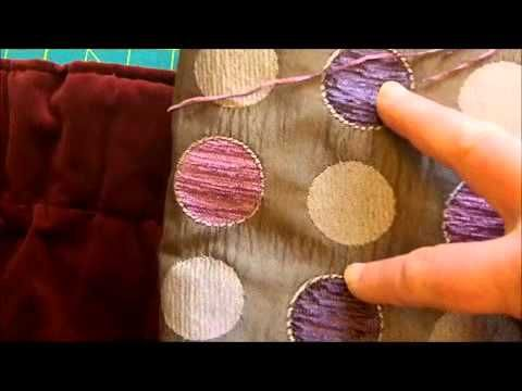 How to Make Blackout Lined Curtains Video