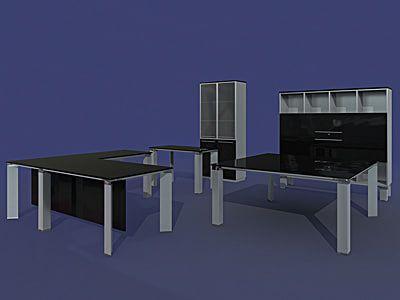 3D Furniture Della Valentina Office - 3D Model | 3D-Modeling ...