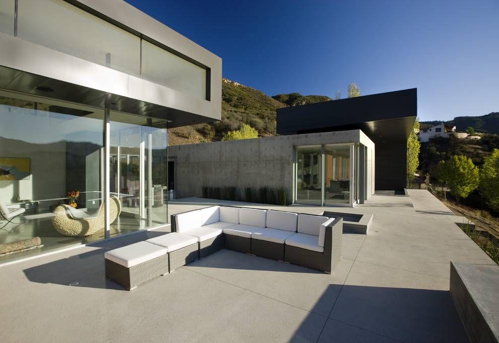 Cemento pulido en exteriores exteriores vivienda - Hormigon pulido para exterior ...
