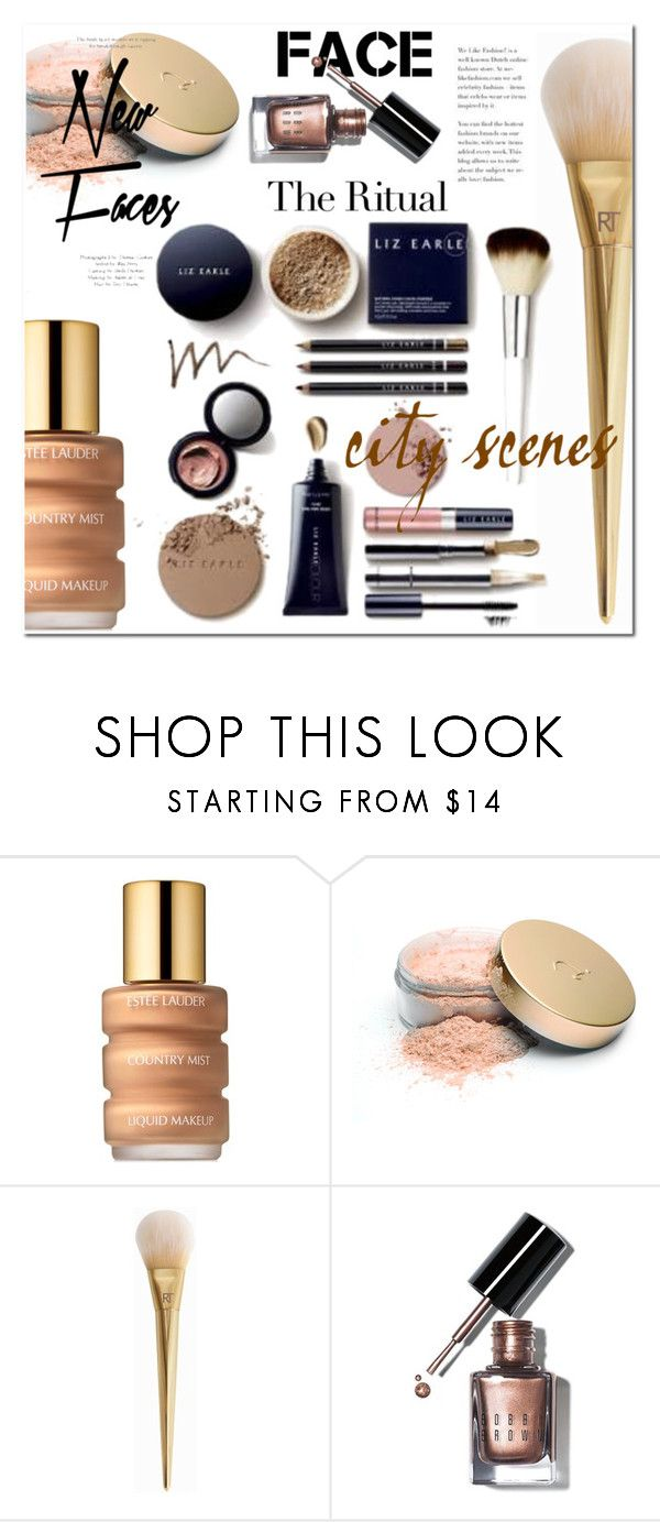 """Face Time"" by tonituff ❤ liked on Polyvore featuring beauty, Estée Lauder, Jane Iredale, Bobbi Brown Cosmetics, La Mer and Topshop"