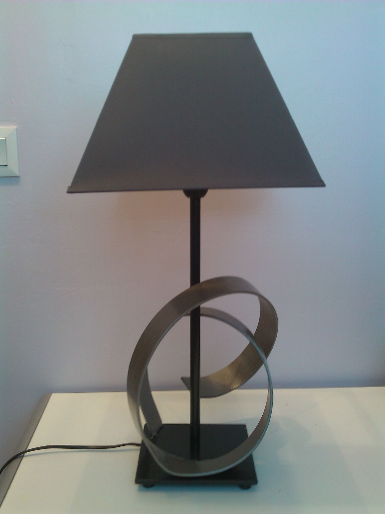 Lampe Fer Forge Design De Createur Plus Lampe Fer Forge Fer
