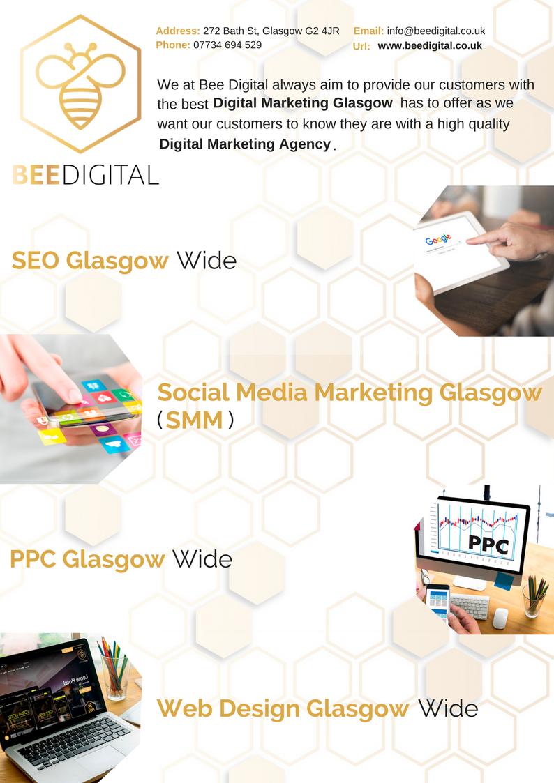 Social Media Marketing Glasgow Http Www Beedigital Co Uk Social Media Digital Marketing Agency Digital Marketing Social Media