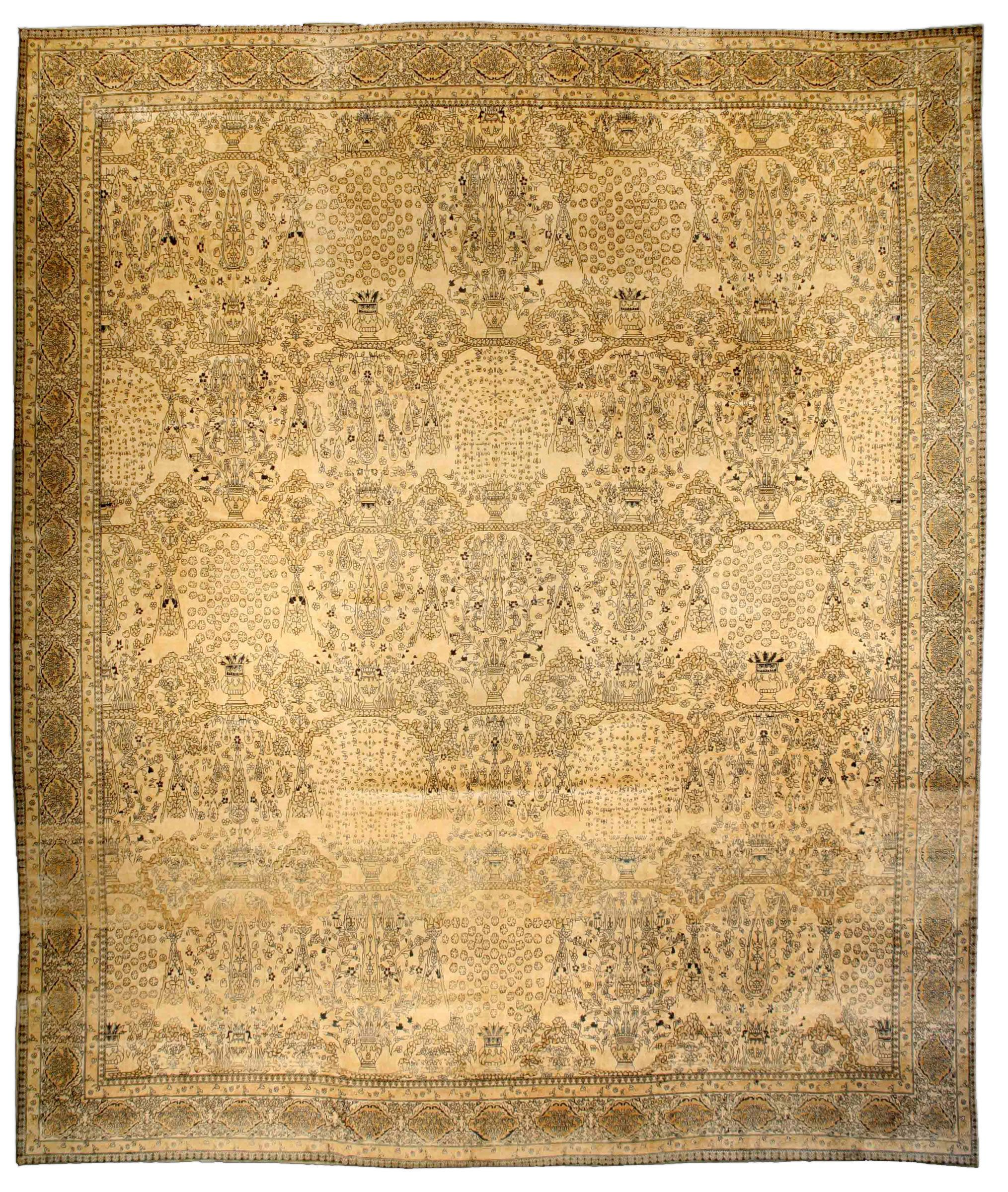 Item No. BB3324 Circa: 1920 | Indian rugs, Decorative vases and ...