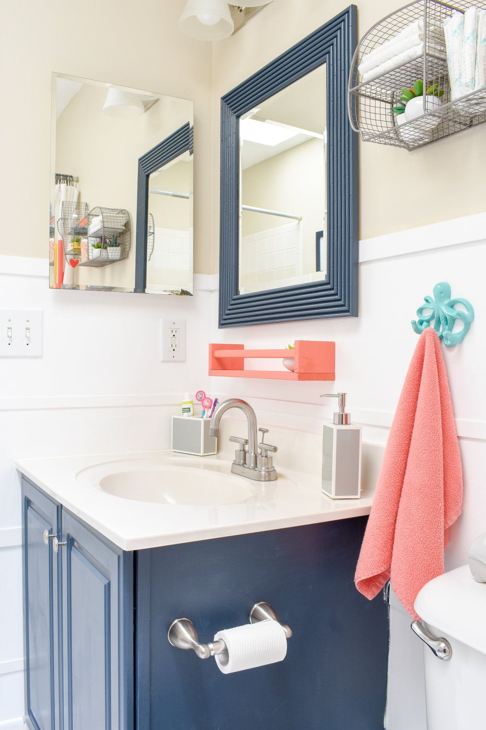 One Day Makeover Staging A Kid S Bathroom To Sell In Just
