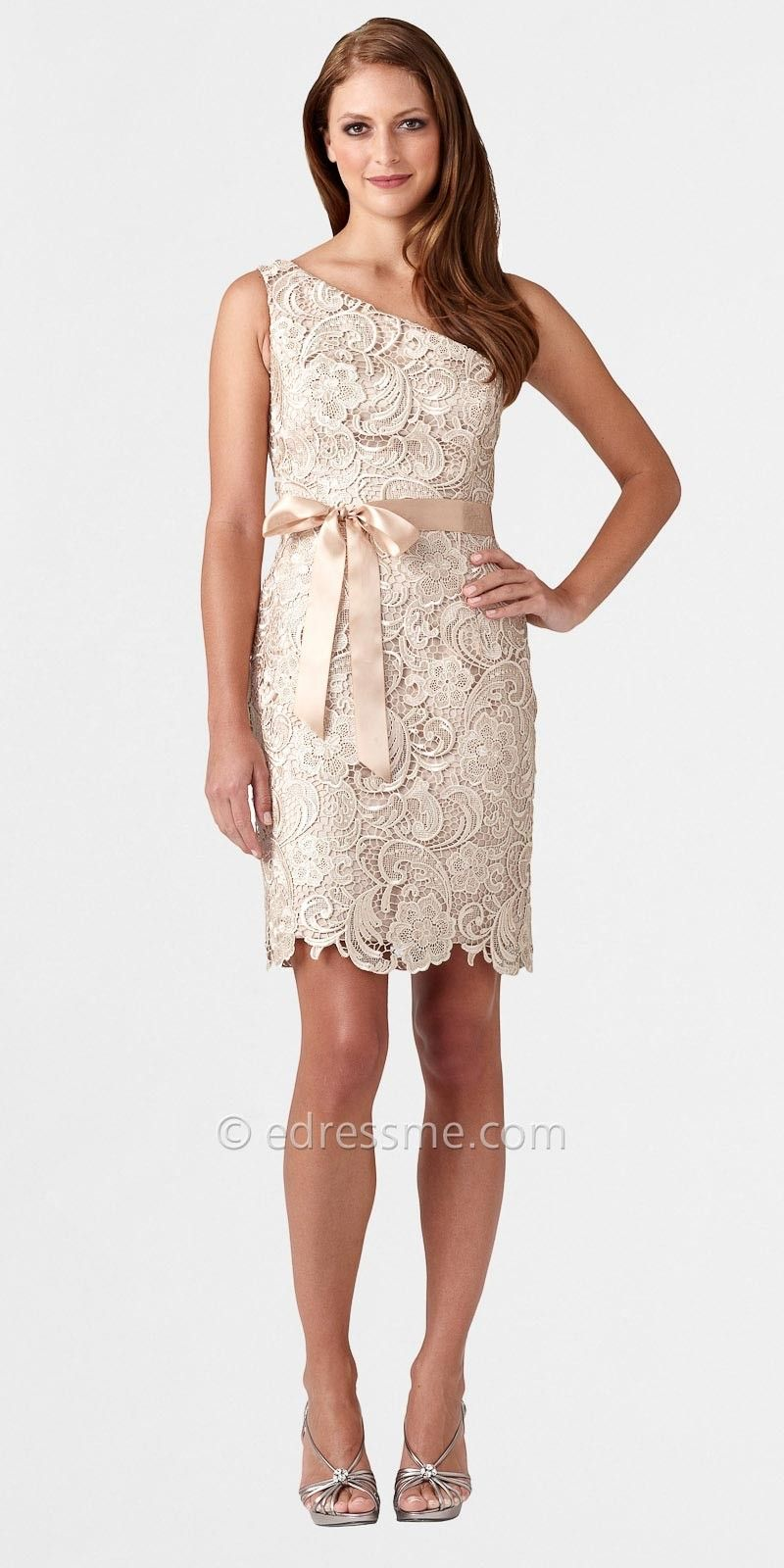 Medium Of Lace Cocktail Dress