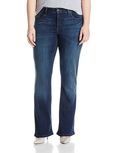 846ba579044 Levis Womens PlusSize 512 Perfectly Shaping Bootcut Jean Luck Out West 18  Plus     Click on the image for additional details. (Note Amazon affiliate  link)   ...