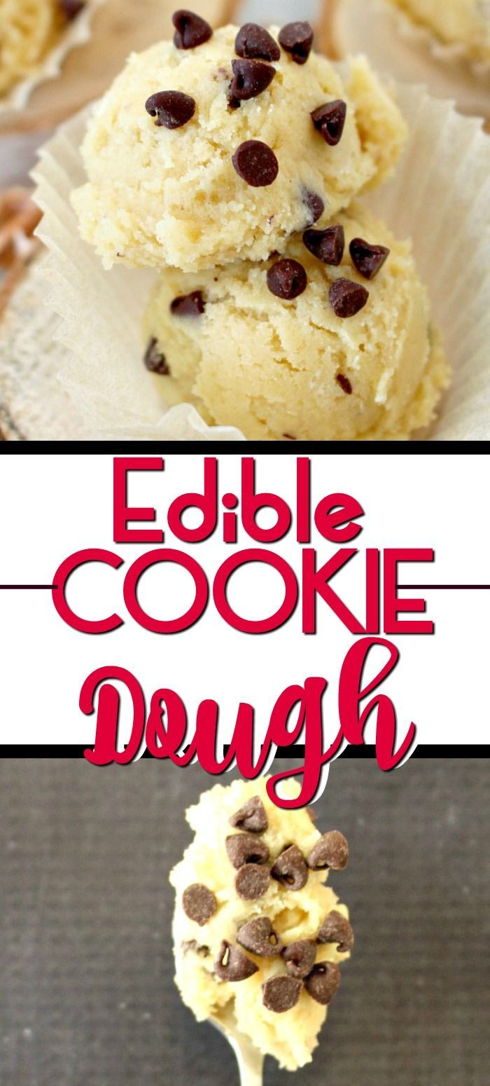 Edible cookie dough is easy to make and delicious to eat. Cookie dough is the best part of making cookies, so this edible cookie dough recipe is eggless so you can eat it by the spoonful with no worries!