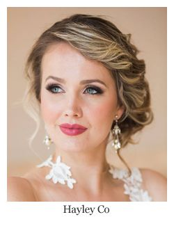 Romantic Bridal Hair Soft Side Swept Updo Hairstyle By Hayley
