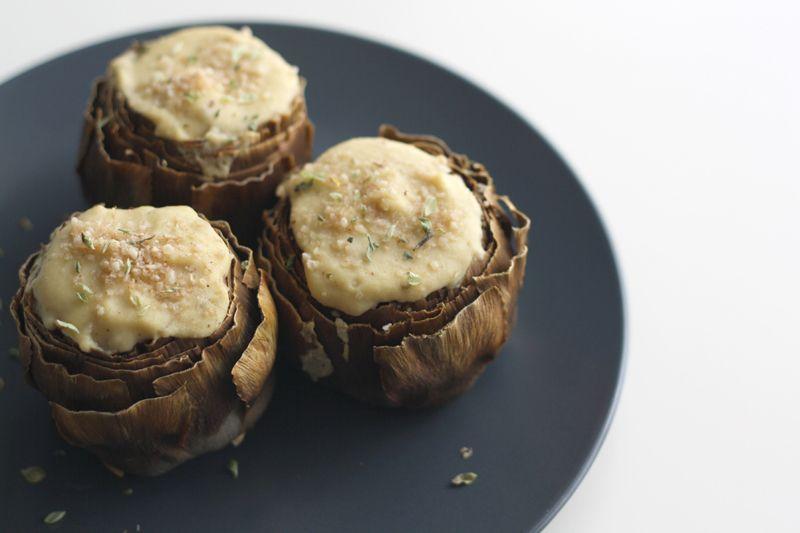 Hummus di carciofi