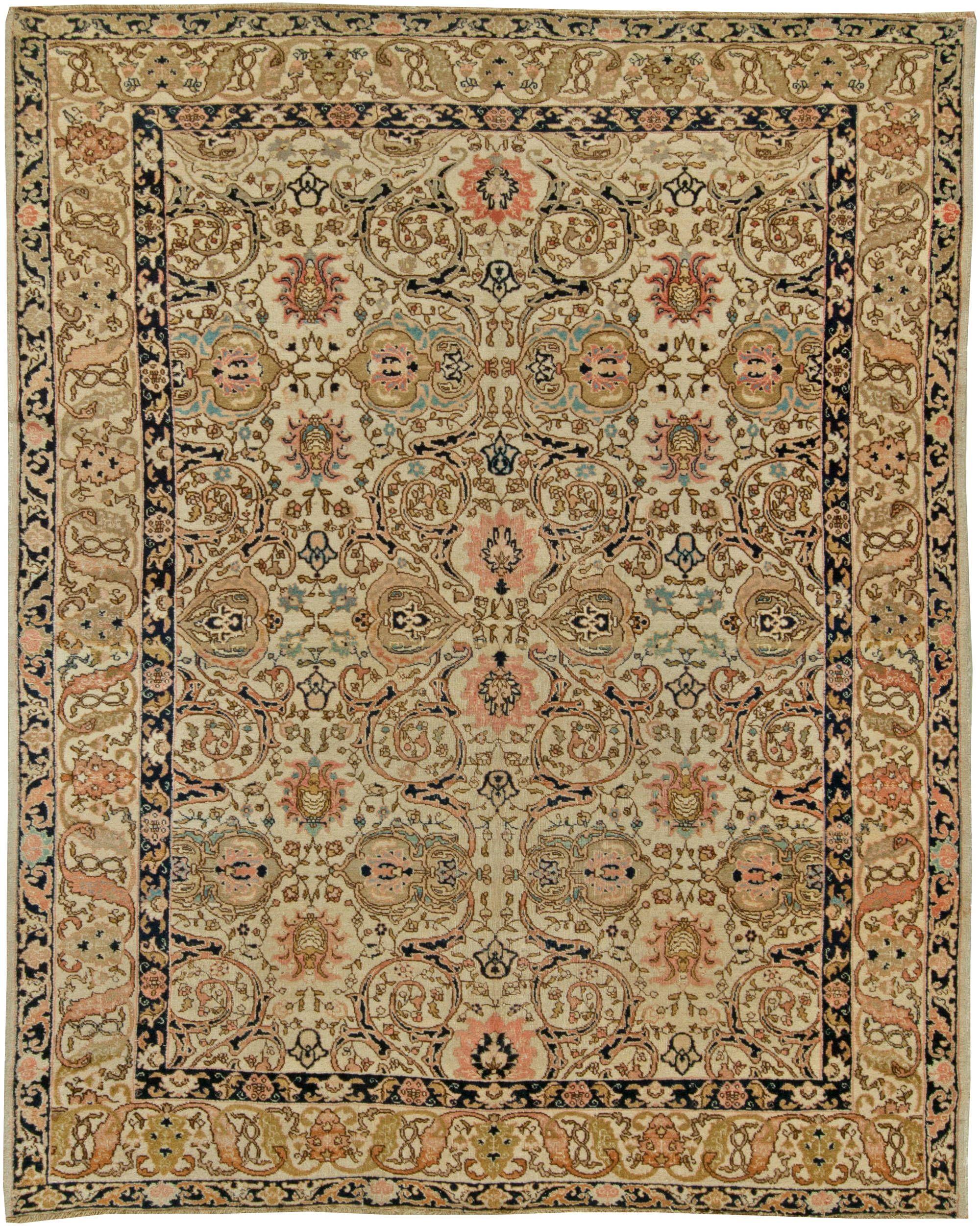 Antique Persian Tabriz Rug Bb6097 By Doris Leslie Blau