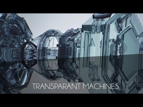 Free Cinema 4D Template #1 - Transparent Machines - YouTube ...