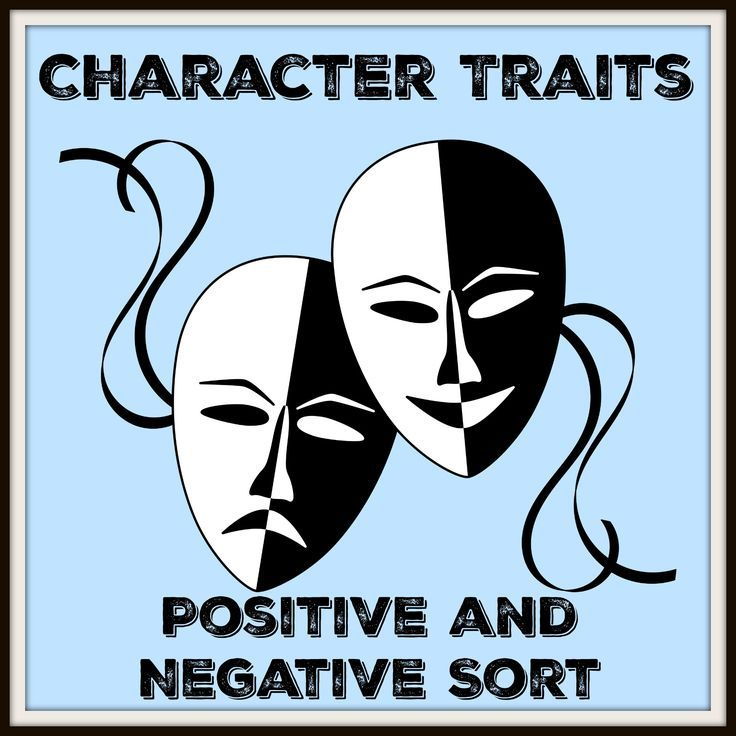 Character Traits Sort with Answer Key Character trait, Secondary - positive character traits