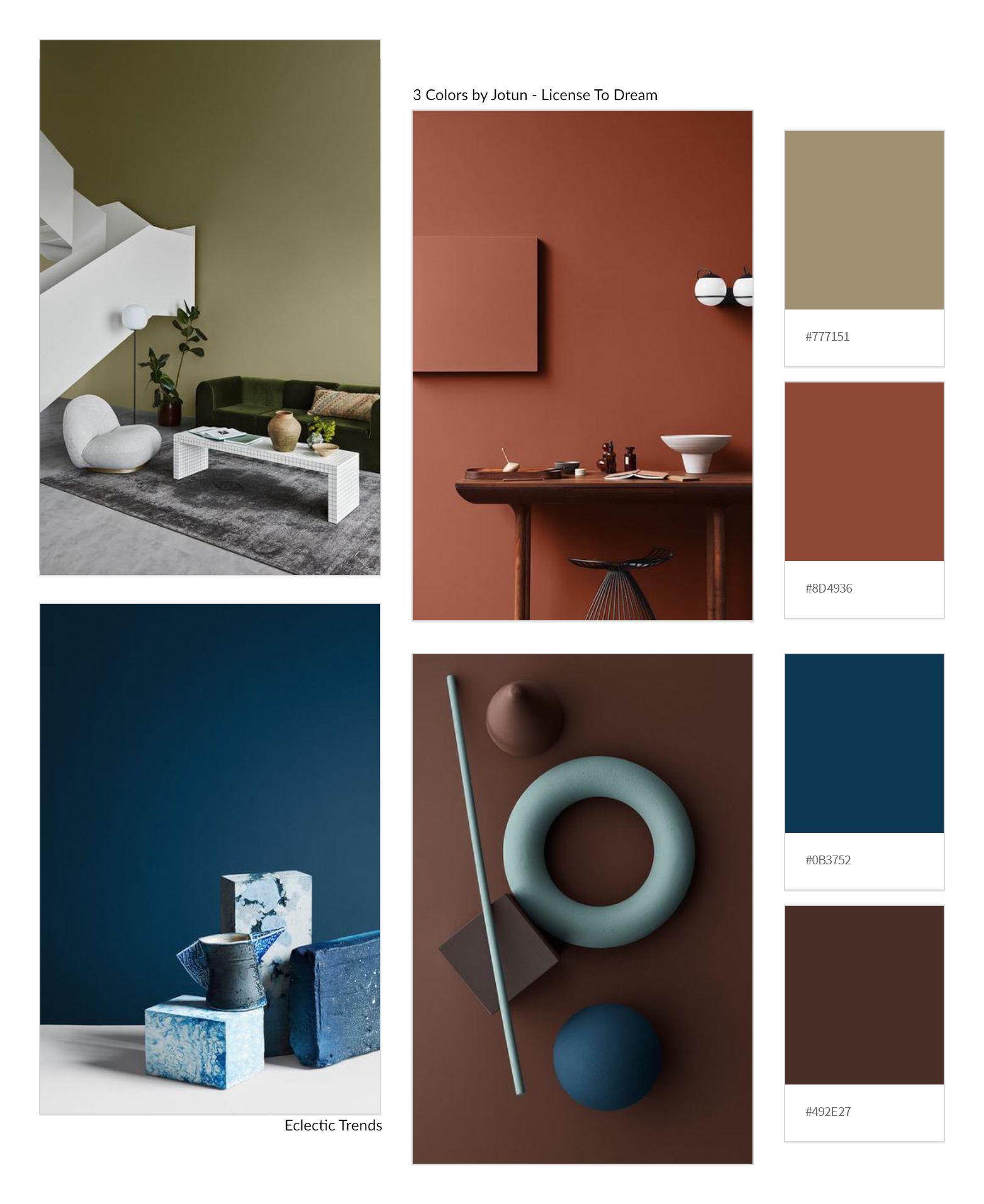 3 Color Universes 2020 By Norwegian Company Jotun