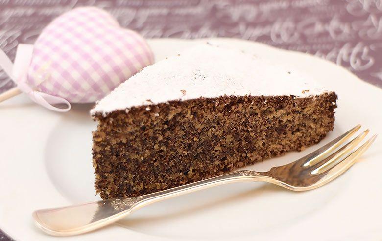 Wer Mohn Mag Wird Diesen Low Carb Kuchen Lieben Mit Frisch
