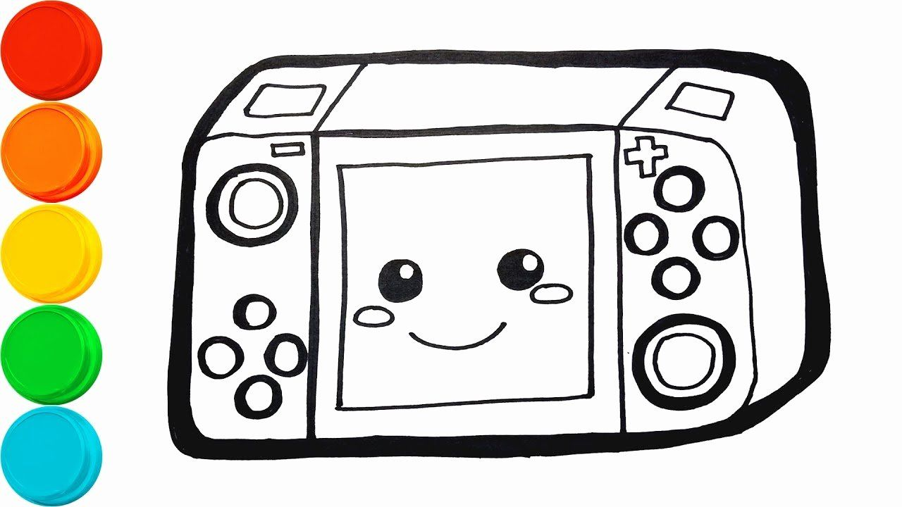 Nintendo Switch Coloring Page Elegant How To Draw Nintendo Switch Game With Coloring Pages With Coloring Pages Nintendo Switch Color