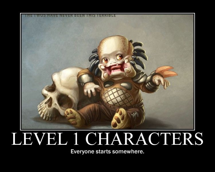 Level 1 Characters By Golentan Dnd Funny Dungeons And Dragons Memes Dragon Memes