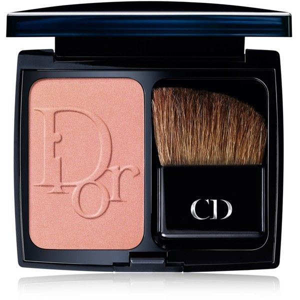DIOR Vibrant Colour Powder Blush ($39) ❤ liked on Polyvore featuring beauty products, makeup, cheek makeup, blush, beauty, powder blush and christian dior
