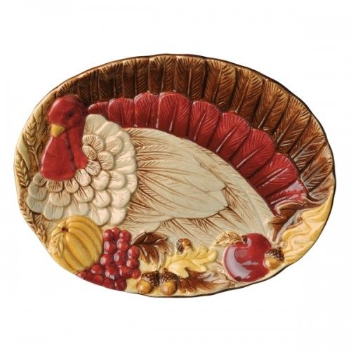 Amscan Turkey Tidbit Plate 12 95 At Chefcentral Com Perfect For