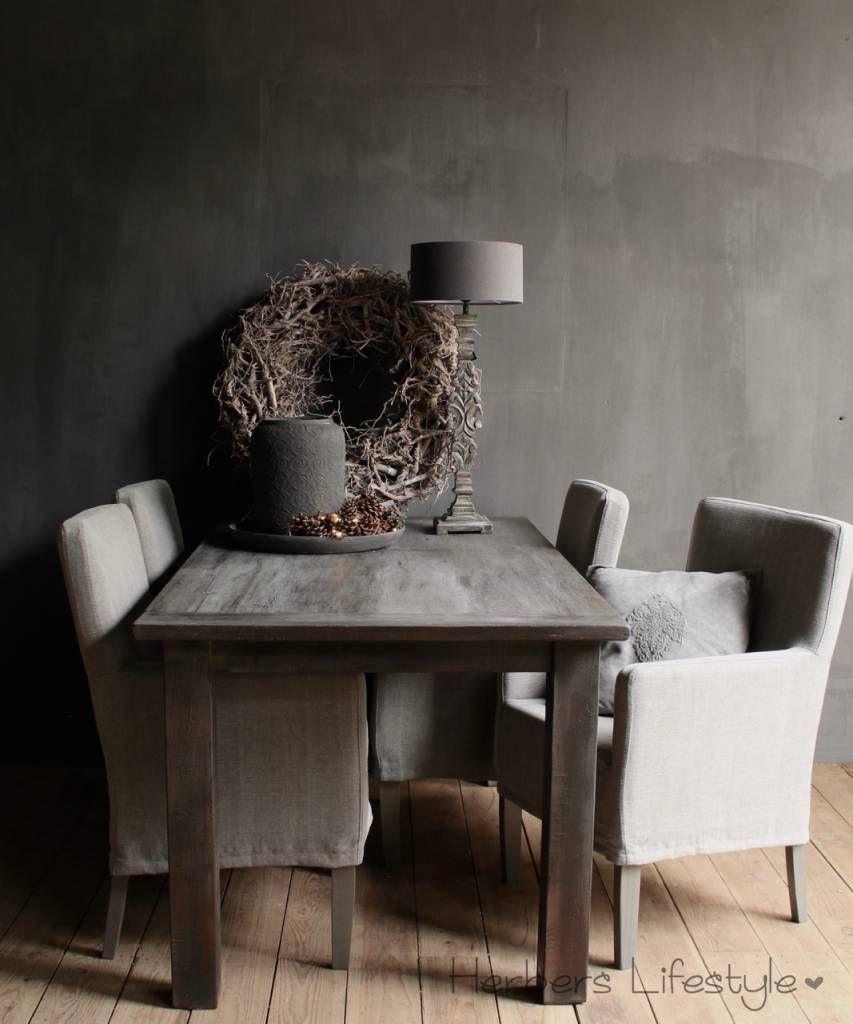 Oud teak eetkamer tafel | Tafels | Pinterest | Teak and Chalk paint