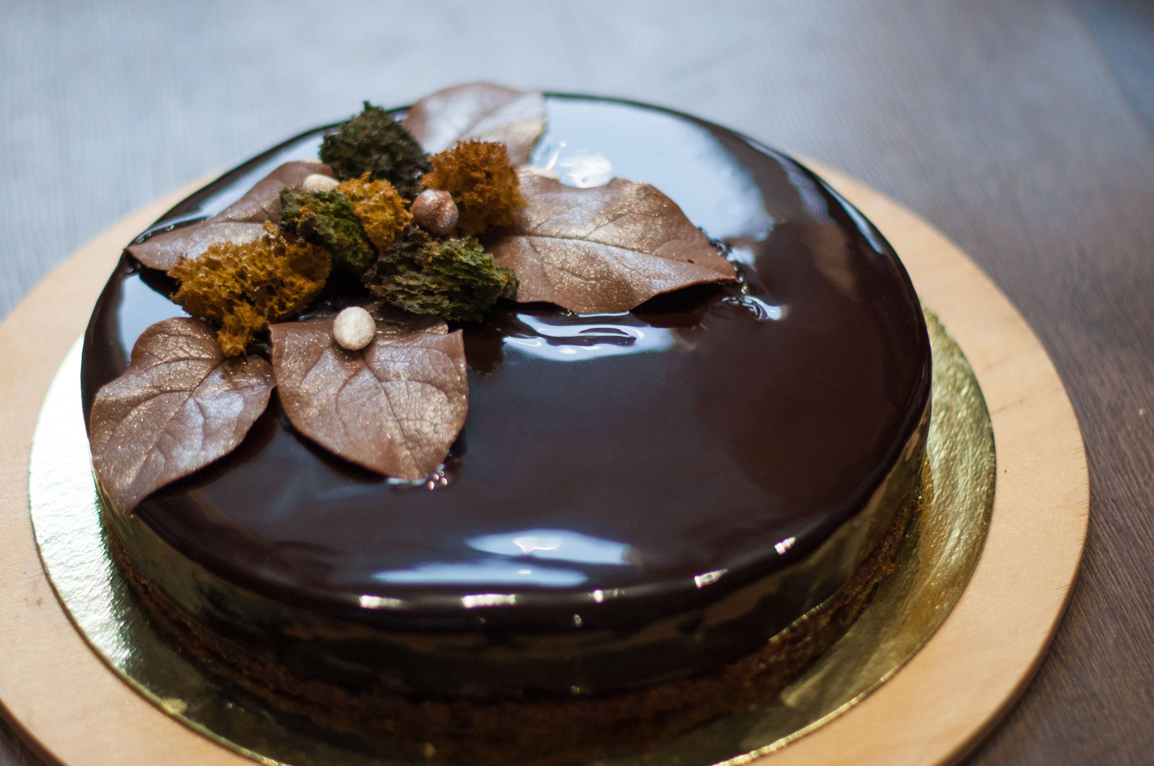 Муссовый торт Три шоколада Осеннее настроение Осенняя композиция ...