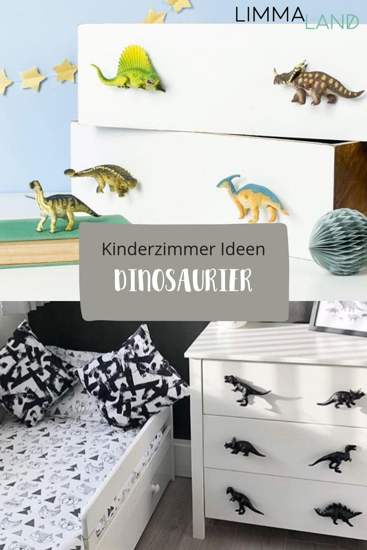 Dinosaurier Kinderzimmer Ideen mit IKEA Hacks #dinosaurnursery Dinosaurier Fans …