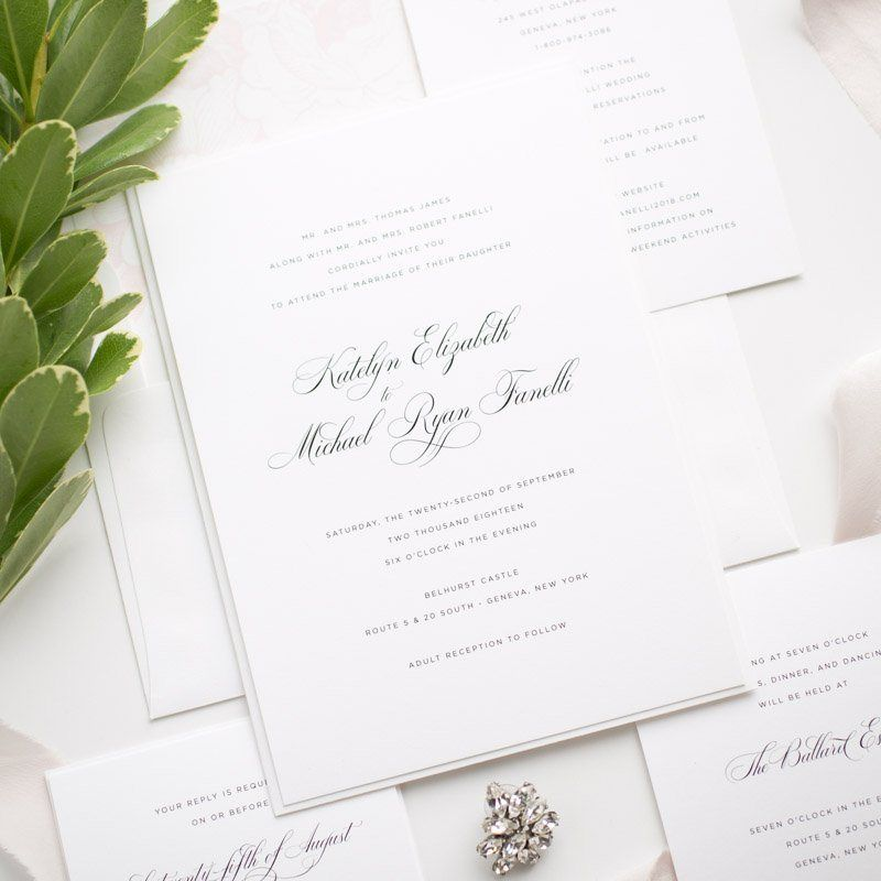Wedding Invitation Wording Examples In 2020