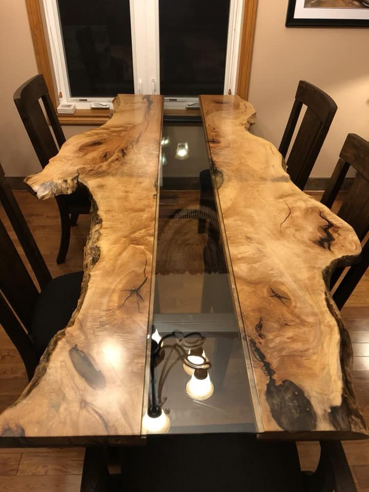 Epoxy tables, River tables, Live edge tables, Dini