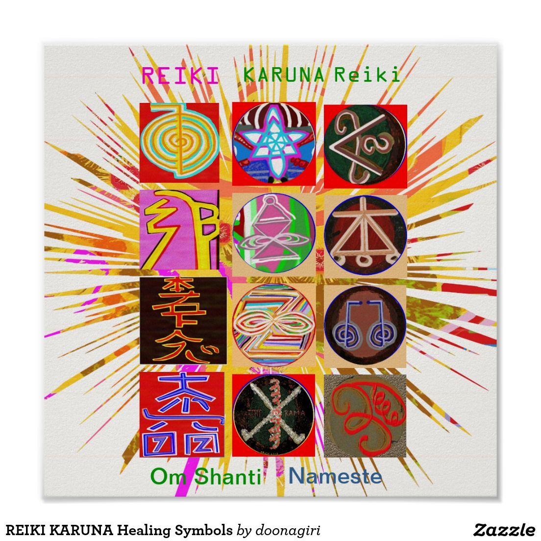 Reiki karuna healing symbols poster symbols reiki karuna healing symbols poster biocorpaavc