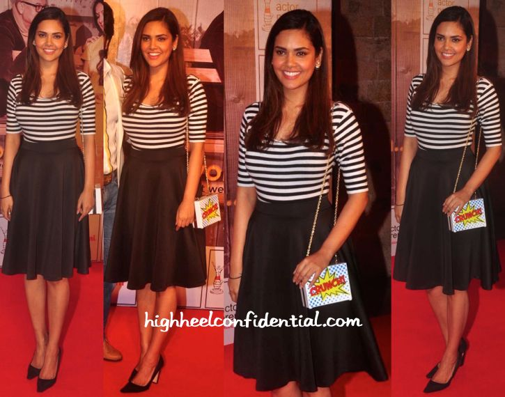 Esha Gupta Takes In Anupam Kher And Neena Gupta's New Play