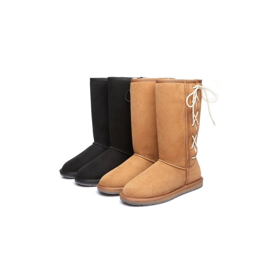 c70db85cc08 UGG Boots,Tall Classic Side Lace, Premium Australian Double Faced ...