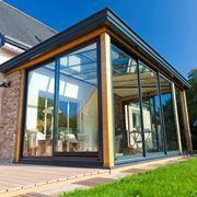Copertura per veranda in legno