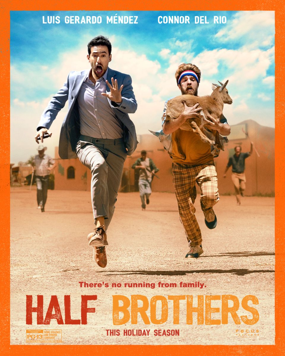 Check Out The New Trailer For Focus Features Film Half Brothers Hits In Theaters December 4 2020 In 2020 Brothers Movie Hollywood Cinema New Trailers